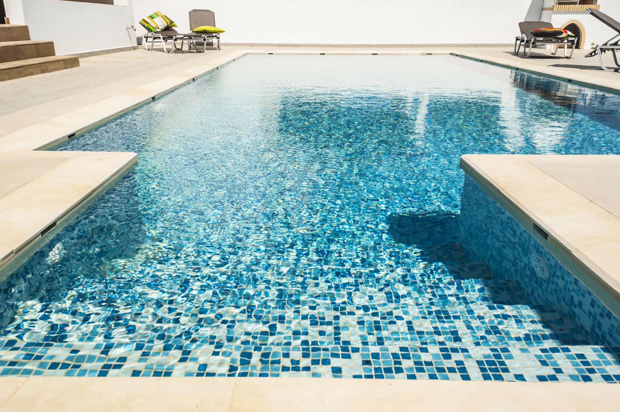 Der Pool Villa Andrea